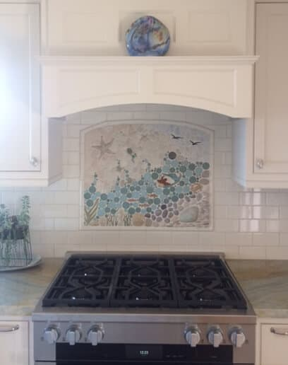kitchen tile murals backsplash a selection of installation pictures for your inspiration 20116